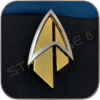 STARFLEET COMMUNICATOR BADGE 2399