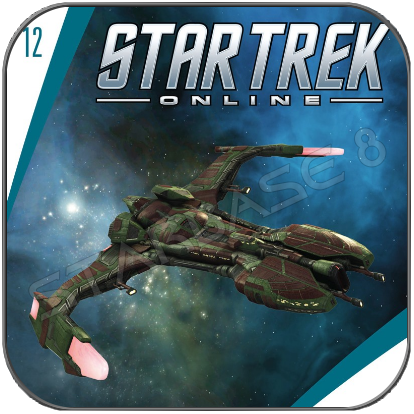 I.K.S MAT'HA - STAR TREK ONLINE (EAGLEMOSS STARSHIP COLLECTION)