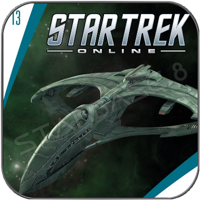 R.R.W. AELAHL - STAR TREK ONLINE (EAGLEMOSS STARSHIP COLLECTION)