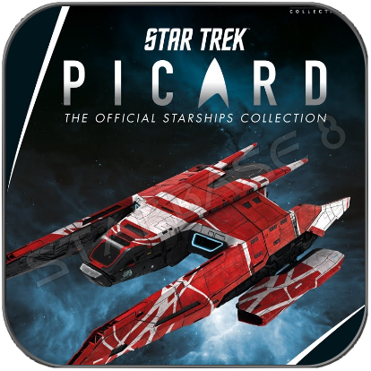 LA SIRENA - STAR TREK PICARD (EAGLEMOSS STARSHIP COLLECTION)