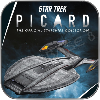 U.S.S. ZHENG HE - STAR TREK PICARD (EAGLEMOSS STARSHIP COLLECTION)