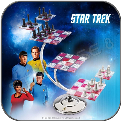 3D SCHACHSPIEL - TRIDIMENSIONAL CHESS STAR TREK TOS
