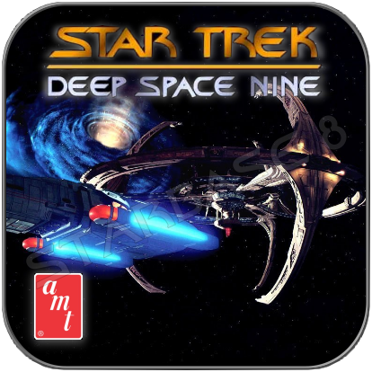 DEEP SPACE NINE STATION AMT MODELL BAUSATZ