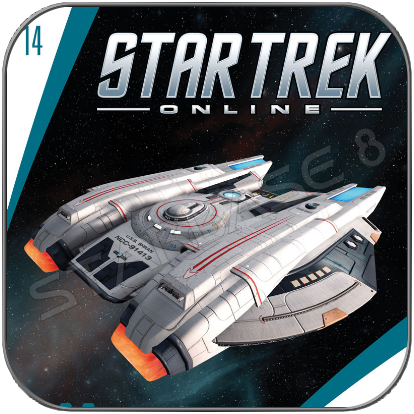U.S.S. SHRAN - STAR TREK ONLINE (EAGLEMOSS STARSHIP COLLECTION)