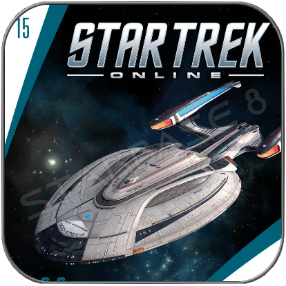 U.S.S. ENTERPRISE 1701-F - STAR TREK ONLINE (EAGLEMOSS STARSHIP COLLECTION)