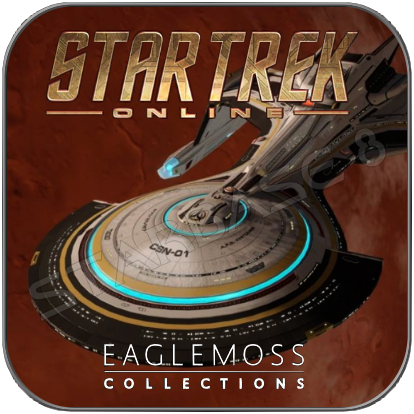 A.F.S. KHITOMER CSN-01 - STAR TREK ONLINE (EAGLEMOSS STARSHIP COLLECTION)