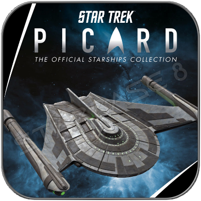 ROMULAN BIRD OF PREY - STAR TREK PICARD (EAGLEMOSS STARSHIP COLLECTION)