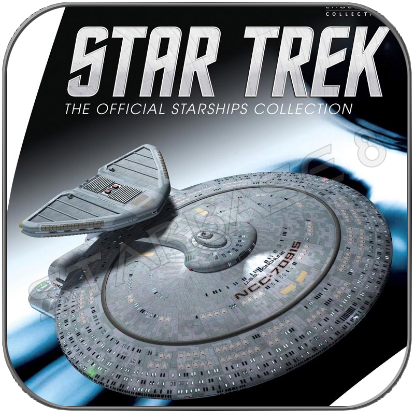 USS BONCHUNE - NEBULA CLASS (EAGLEMOSS XL EDITION STAR TREK STARSHIP COLLECTION)