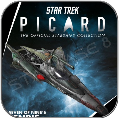 SEVEN OF NINE's FENRIS RANGER SHIP - STAR TREK PICARD (EAGLEMOSS STARSHIP COLLECTION)